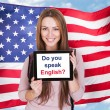 Постер, плакат: Do You Speak English