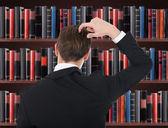 Man scratching His Head — Stock Photo