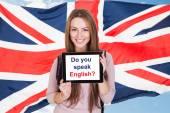 Do You Speak English — Stock Photo