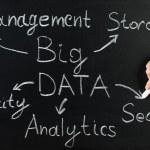 Big Data Flow Chart — Stock Photo #66382609