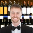 Smiling Male Bartender — Stock Photo #66382899