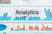 Torn Paper With  Text Analytics — Stock Photo