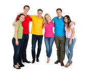 Happy Friends multiethniques — Photo
