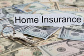 Home Insurance Text On Paper — Stock Photo