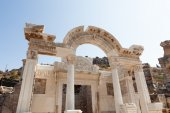 Temple Of Hadrian in Ephesus — Stock Photo