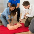 First Aid Training — Stock Photo #67053847