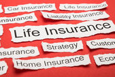 Life Insurance Text — Stock Photo
