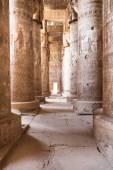 Columns In Dendera Temple — Stock Photo