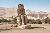 Colossi Of Memnon Statue — Stock Photo