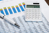 Financial Data Sheet — Stock Photo