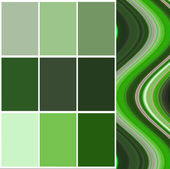 Color  selection for interior — Stock Photo