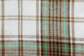 Close up of the checked fabric texture — Stock Photo