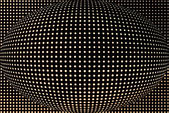 Spotted spherical black background — Stock Photo