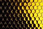Golden  circle textured background — Stock Photo