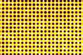 Spotted optical vision illusion 3d background — Foto de Stock
