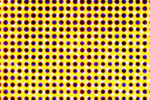 Spotted optical vision illusion 3d background — Stock fotografie