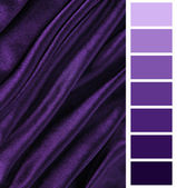Color selection complimentary chart palette — ストック写真