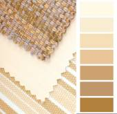 Color design and color selection for interior — Stock Photo