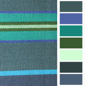 Fabric color choice — Stock Photo