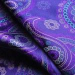 Natural silk fold fabric texture — Stock Photo #72680473