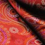Natural silk fold fabric texture — Stock Photo #72847883