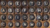 Alfabeto vintage — Foto de Stock