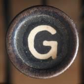 Γράμμα g — Φωτογραφία Αρχείου