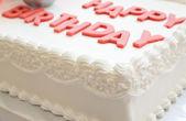 Pastel de cumpleaños feliz — Foto de Stock