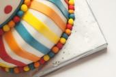 Colorful Birthday Cake  — Stock Photo