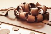 Chocolate Ribbons  — Stock Photo