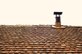 Old Roof and Chimney — Stock Photo