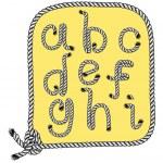 Typography rope — Stock Vector #59807183