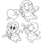 Nice cupids set — Stock Vector #59809667
