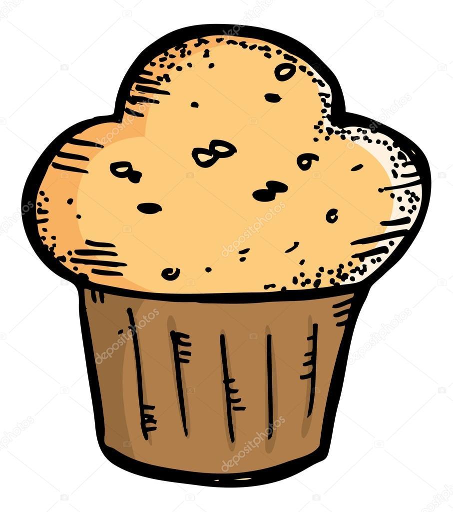 muffin  tecknad cupcake stock vektor 59806811 muffin clip art border muffin clip art page border