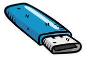 USB flash disk — Stock Vector