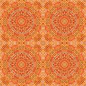 Seamless pattern, mosaic of  fabric — Foto Stock