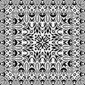 Abstract seamless outline pattern — Stock Vector