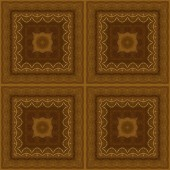 Seamless pattern, wooden marquetry — Stock Photo