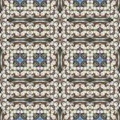 Seamless pattern oil painting — Stock Photo