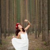 Fairytale in forest — Stock Photo