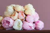 Pink peony bouquet — Stock Photo