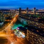 Kiev evening view — Stock Photo #56152869