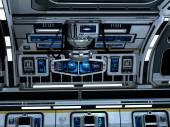 Starcarrier binnen — Stockfoto