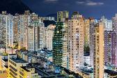 City life in Hong Kong — Stock Photo