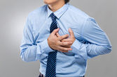 Heart attack — Stock Photo