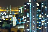 Blurred unfocused building light  — Stock Photo