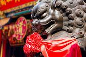 Pomnik lwa chińskiego — Zdjęcie stockowe