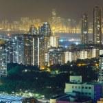 Hong Kong city at night — Stock Photo #57630199