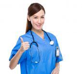 Female asian doctor — Stock Photo