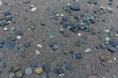 Wet stone flint — Stok fotoğraf